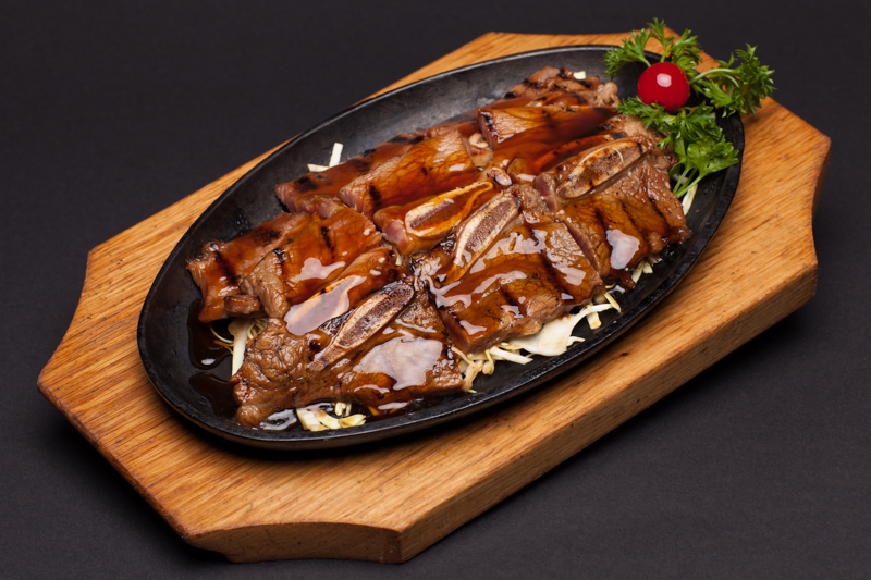7. Beef Short Ribs Teriyaki