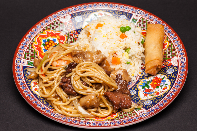 9. Combination Chow Mein