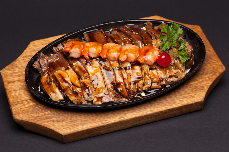 8. Combination Teriyaki