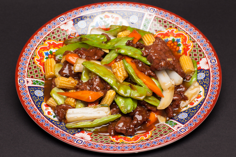 Snow Peas with Beef