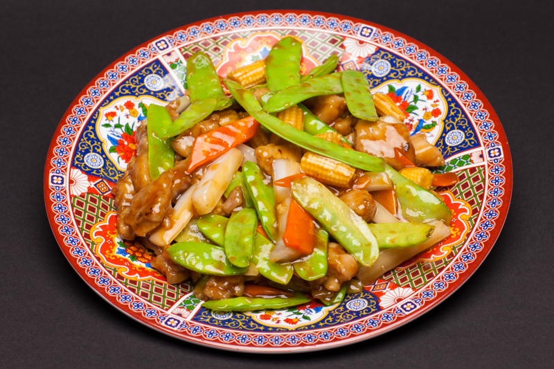 Snow Peas with Chicken