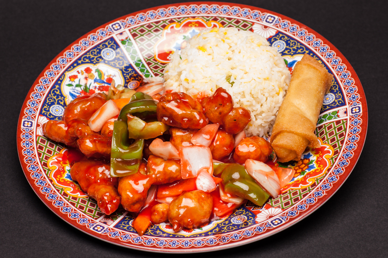 1. Sweet & Sour Pork